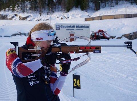 SKAL KJEMPE: Ida Emilie Herfoss har ambisjoner om å kunne kjempe om seieren på Gautefall.