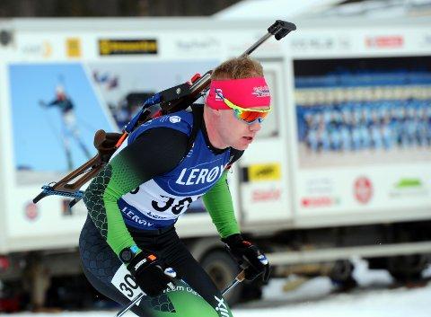 TO PALLPLASSAR: Martin Femsteinevik følgde opp den flotte innsatsen på normalprogrammet med å bli nummer to på sprinten på Dombås.