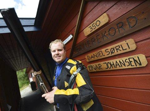 TANGERTE REKORDEN: Halvor Thrane Svendsens navn kommer snart opp rekordveggen.FOTO: OLE JOHN HOSTVEDT