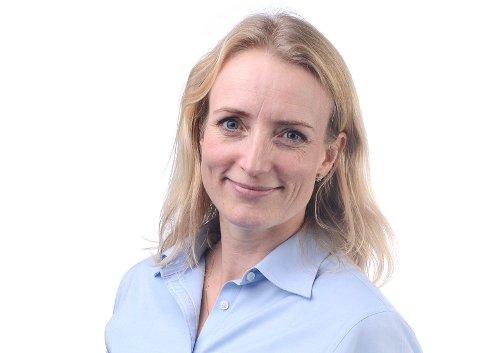 BEKLAGER: Kommunikasjonssjef Ragnhild Ask Connell i Glitre Energi beklager upresis formulering i et kundebrev.