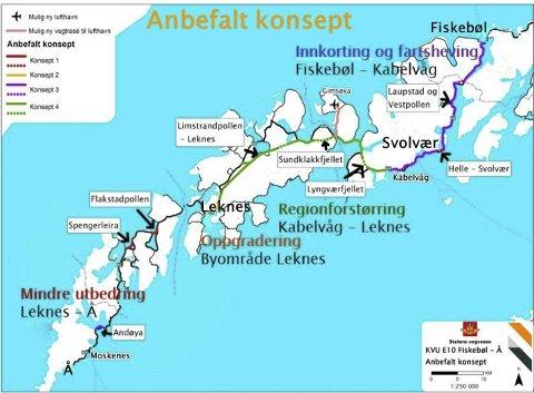 MEKTIG FORUM: Samferdselsforum Nord har levert sin prioriteringsliste for prosjekt i Nordland til Samferdselsdepartementet. Selv om E 10 i Lofoten ikke er nevnt ved navn, er prosjektet en del av prioriteringene, understreker daglig leder Stig Kjærvik.