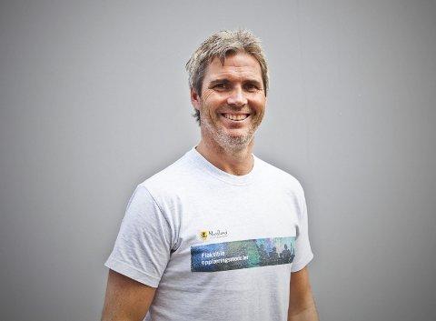 Ot-Koordinator For Vest-Lofoten: Sten Roger Sandnes er OT-koordinator for Vestvågøy, Flakstad og Moskenes. Han er å treffe på Vest-Lofoten videregående skole, og oppfordrer ungdommer som står uten skoleplass eller har sluttet på skolen til å ta kontakt. Foto: Arkiv
