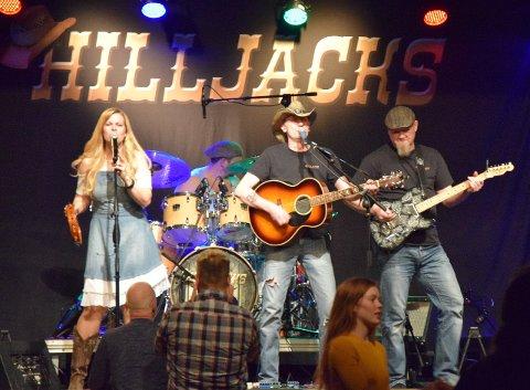 AVLYSER: Hilljacks var en artistene som skulle spille på Lofoten Countryfestival