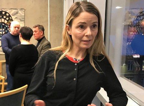 MUTANTTEST: Kommuneoverlege Kathrine Kristoffersen fortalte at kommunen i ett tilfelle har bedt om særskilt analyse av en virustest.