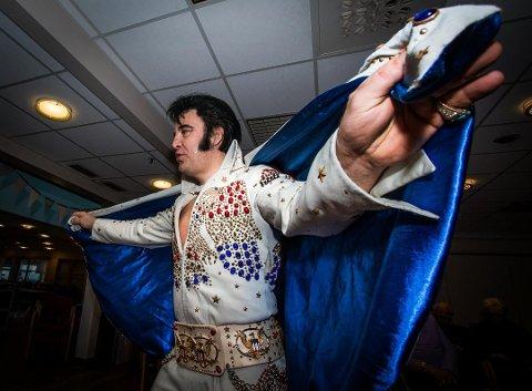50 TIMER: Lyngdals Kjell Elvis skal synge Elvis sanger i 50 timer.