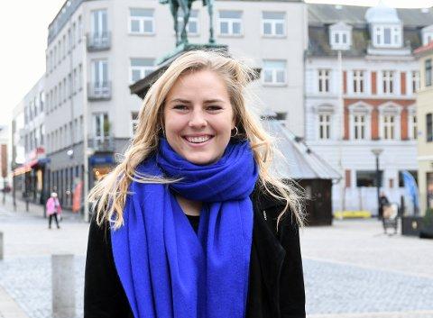 TRIVES: Vilde Mortensen Ingstad stortrives som håndballspiller i Esbjerg.