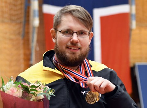 RUTINERT: Andreas Aulie har fått med seg rundt 30 NM-titler etterhvert. I helgen ble det tre gull.