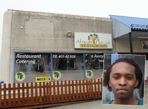 MELDT OPPBUD: Det er åpnet konkursbu i selskapet Muv AS, som er det egentlige navnet på selskapet bak African Flavour Restaurant i Tromsdalen.  Germain Muvunyi, innfelt, er daglig leder i selskapet.