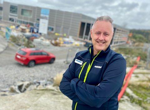 SULTEN: Det er i detaljvarehandelen Knut Alstad føler seg aller mest hjemme. Han er den nye varehussjefen i storsatsingen til Maxbo i Nygårdskrysset.