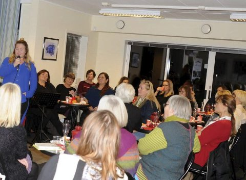 DAMENES AFTEN: Forlagshuset har tidligere hatt åpne samlinger som for eksempel Damenes aften der rundt 40 damer hadde funnet veien.