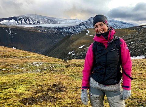 PIONERARBEID: Mari Braut har nettopp begynt i ny jobb på Svalbard. Den har ingen andre hatt før henne.