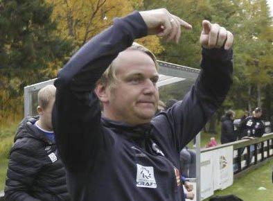 BYTTE: Bjørn Arve Lund gir seg etter to sesonger som MIL-trener. Lørdag blir siste kamp når MIL møter Rana FK på Sagbakken stadion.Foto: Per Vikan