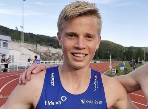 Stiller: Andreas Grimerud fra Moleven stiller i G-17 på 200 meter, 400 meter og 800 meter.