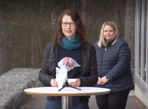 OPPFORDRING: Yvonne Hagerup Minsaas og de andre kommuneoverlegene på Hedmarken ber eldre og personer i risikogruppene om å være ekstra forsiktige framover.