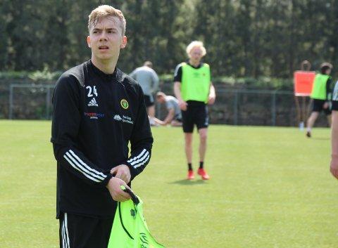KLAR: Edin Øy blir Ull/Kisa-spiller de to neste årene.