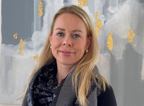 SOLID OVERSKUDD: Daglig leder Guri Horsfjord Lassen i Lørenskog kommunale pensjonskasse (LKP).