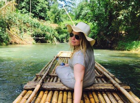 REISEVANT: Marie Golimo Kingsrød er glad i å reise.