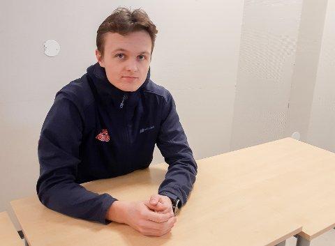 TATT UT: Johannes Løken fra Askim IF er tatt ut til nordisk juniorlandskamp i kombinert.