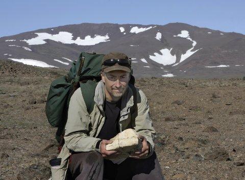 Per Michelsen på tur i Nordøst-Grønland.