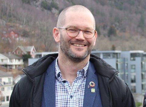 LIKER DET: Leiar for samferdselsutvalet i Rogaland fylkeskommune, Alexander Rügert-Raustein, liker alternativ 3 som betyr at kutta i hurtigbåttilbodet ikkje blir så dramatiske som frykta.