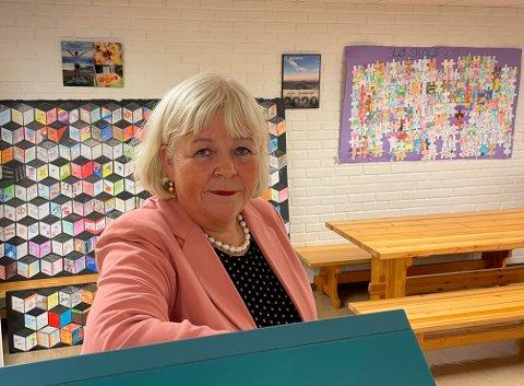 Gerd Thorshaug sier også at det gjøres svært mye godt i Steinkjer kommune når det gjelder skole.
