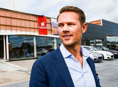 NY JOBB: Bård Abrahamsen skifter jobb fra salgssjef for Jaguar og Land Rover hos Autostrada til salgssjef for Ferrari hos Autoxo Sport.