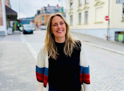 ET FELLES PROSJEKT: Om befolkningen, næringslivet og kommunen forener om et felles prosjekt i sentrum kan mye bli skapt i Notodden sentrum, mener forsker Nanna Løkka (45).