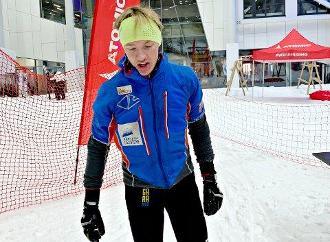 Edvard Sætran Solli er en av Norges mest lovende i randonee.