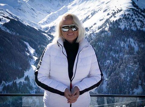SMITTET PÅ FERIE: Kristin Andersen var en av de første i Larvik som fikk påvist korona.