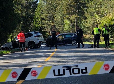 Dødsulykke: Bilulykken i Åmli krevde et menneskeliv.