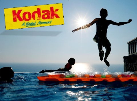PÅ VERDENSTOPPEN: Kodak var meget dyktige på å posisjonere seg og var en klar verdensener innen film og foto. Hva skjedde?