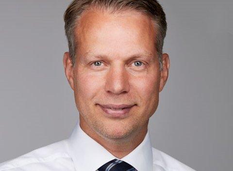 NY JOBB: Christopher Kjølner er ny konserndirektør for Strategi og forretningsutvikling i Skagerak Energi. Han kommer opprinnelig fra Nøtterøy.