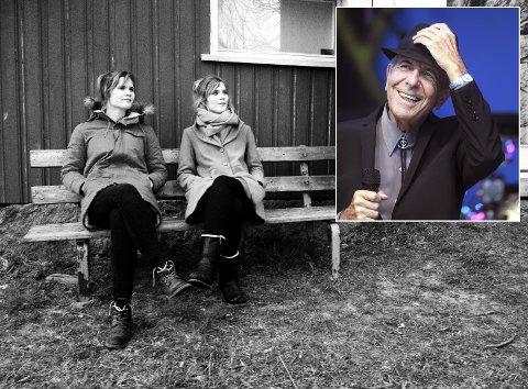 Kjersti og Rønnaug Tingelstad fikk sendt en personlig pakke med egeninnspilte Cohen-låter til legenden selv.