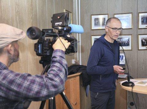 KRAFTIG SKYTS: Fra Per Gunnar Løset på vegne av Gjemnes, Sunndal og Tingvoll.
