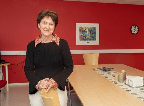 Ønsker trygghet: Anne Kari Grimstad er opptatt av tryggheten til ansatte og besøkende ved Nav-kontoret.
