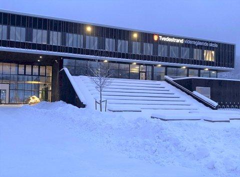 125  personer er i karantene etter smitteutbrudd ved Tvedestrand videregående skole. En av de smittede er bosatt i Risør. Arkivfoto: Tvedestrandsposten