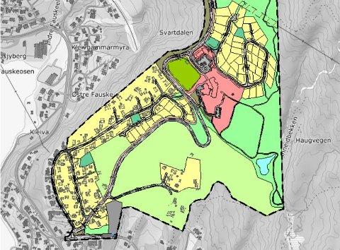 Nytt planforslag: Den opprinnelige planen fra 1996 har kommunen børstet støv av, slik at den nå blir presentert i en ny form med flere konkrete forslag til utbedringer i det aktuelle området.