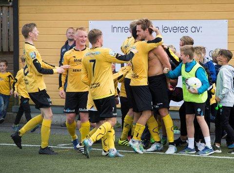 Os håper at de får mye å juble for i 4. divisjon neste sesong. (Arkivfoto: Anders Kjølen)