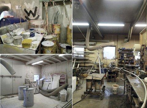 Disse bildene ble brukt som bevis i retten da arbeidsforholdene ble rettsbehandlet.