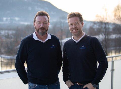 UTSKIFTNING: Nils Smetbak (t.v.) frigjøres for arbeid med FP3-anken og Anders Høiback konstitueres som daglig leder i Isachsen Anlegg.
