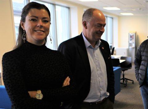 LYTTA TIL: Morten Stordalen som sit i transportkomiteen på Stortinget synest Britt Dalsbotten og dei andre i Frp i Florø la fram gode argument om å støtte re-FOT for Florø. I dag lova han pengane.