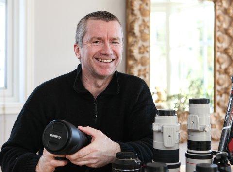 FOTOGRAF: Inge Nipen meistrar kunsten å fange stjernehimmelen.