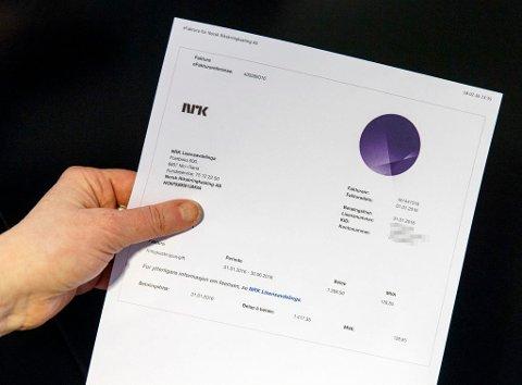 LISENS: Har du ikkje betalt NRK-lisensen enno? Då kan du bli trekt i løn.