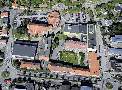 Dyr opprusting: Glemmen har svært variert bygningsmasse, den eldste bygningen er fra 1930-tallet. Nå ønsker rektorene ved Glemmen og Frederik II å finne en ny tomt. Arkivfoto: Geir A. Carlsson