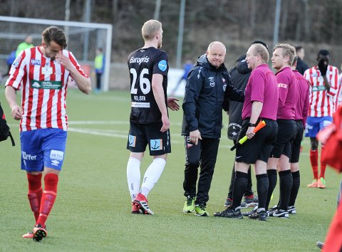 Videre: Per-Mathias Høgmo og FFK tok seg greit videre fra 1. runde i cupen. (foto: Atle Wester Larsen, Halden Arbeiderblad)