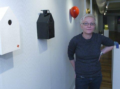 Kristin Antonsen flyttet fra Narvik i 1997 og har siden bodd og jobbet i Mandal.  Foto: Jan Erik Teigen
