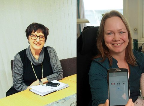 VISEREKTOR: Både Edel Storelvmo til venstre og Silje Wangberg har søkt på jobben som viserektor for UiT for Sør-Troms og Nordland.