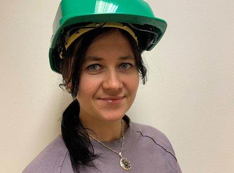 NYANSATT: Diana Jensen er ansatt som kvalitets- og HMS-leder i Taraldsvik Maskin AS. Pressefoto