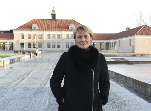GAMLE TOMTER: Kate Hansen Bundt gikk sine barneskoleår på Kongsvinger sentralskole. – Jeg gikk alltid fra «are sia» ved Vinger hotell og over Glomma, uansett hvor kaldt det var!
