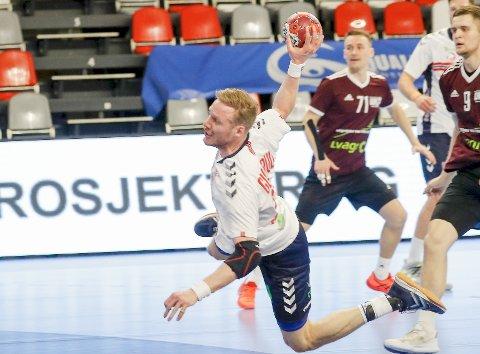 GULLDRØM: Magnus Gullerud er klar til å ofre alt for norsk OL-suksess i Tokyo.